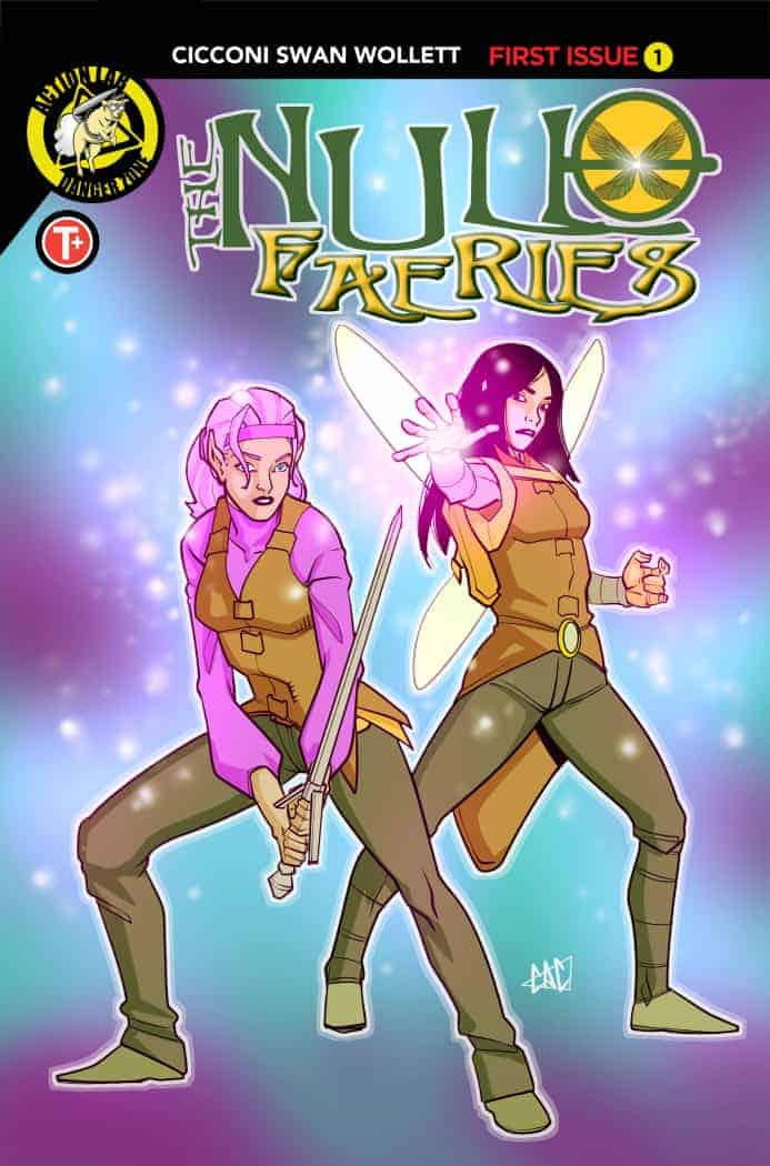 Null Faeries #1 Cover B Cicconi
