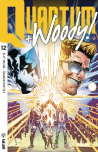 QUANTUM AND WOODY! (2017) #12 - Cover B (Extreme Ultra-Foil) by Geoff Shaw
