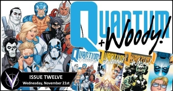 QUANTUM AND WOODY! (2017) #12 preview feature