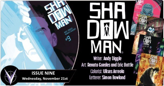 SHADOWMAN #9 preview feature