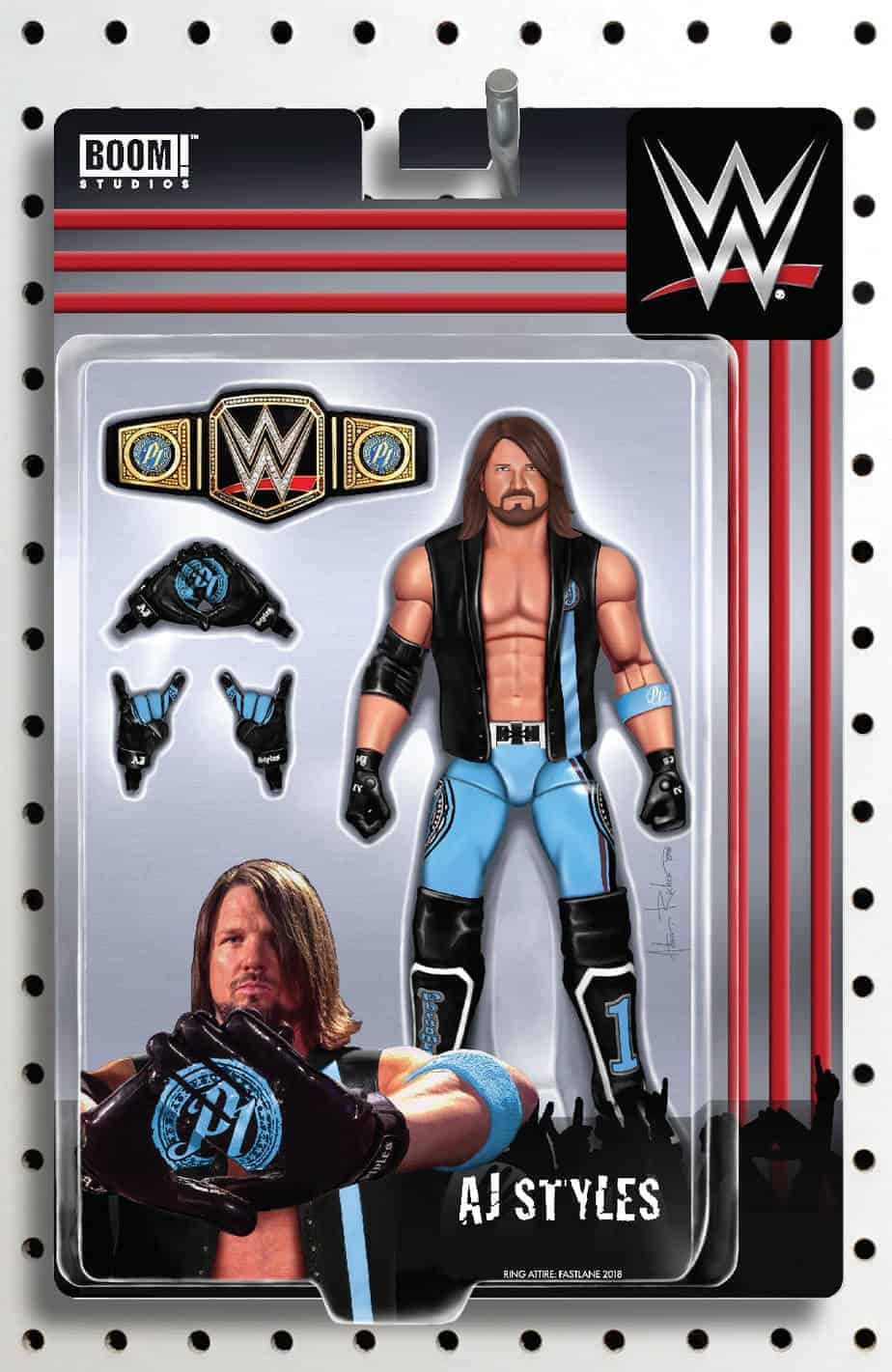 WWE #23 - Action Figure Variant Cover