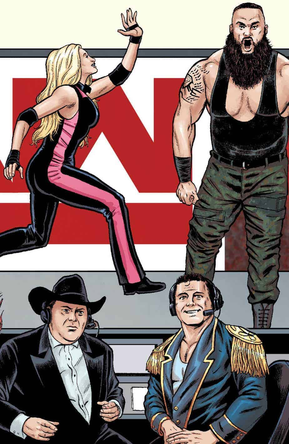 WWE #23 - RAW Connecting Cover