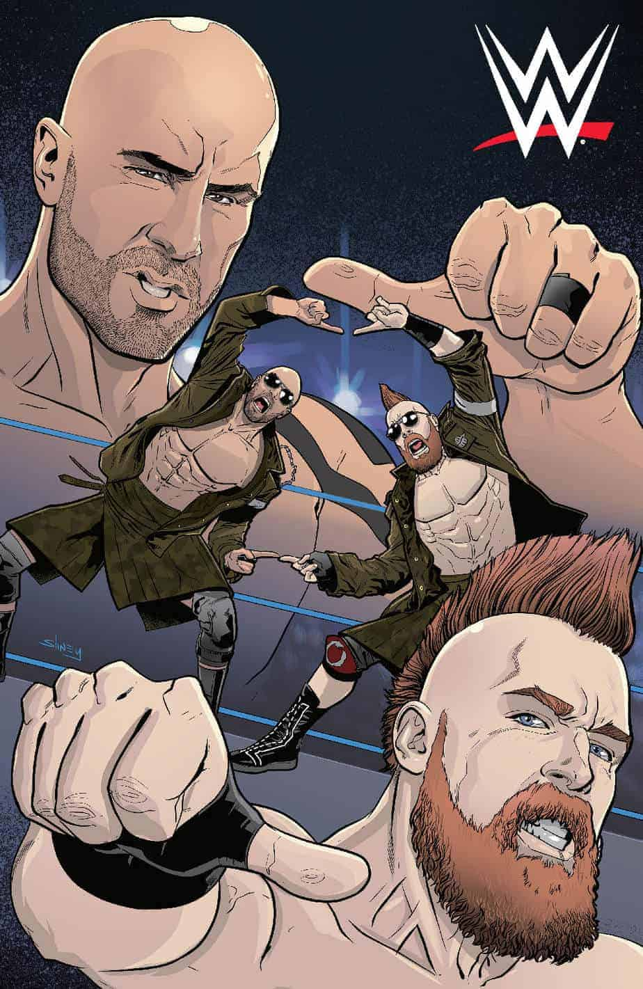 WWE #23 - Incentive Variant Cover