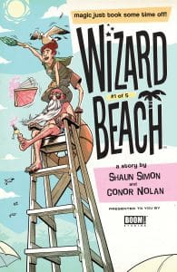 Wizard Beach #1 - Incentive Cover by George Schall