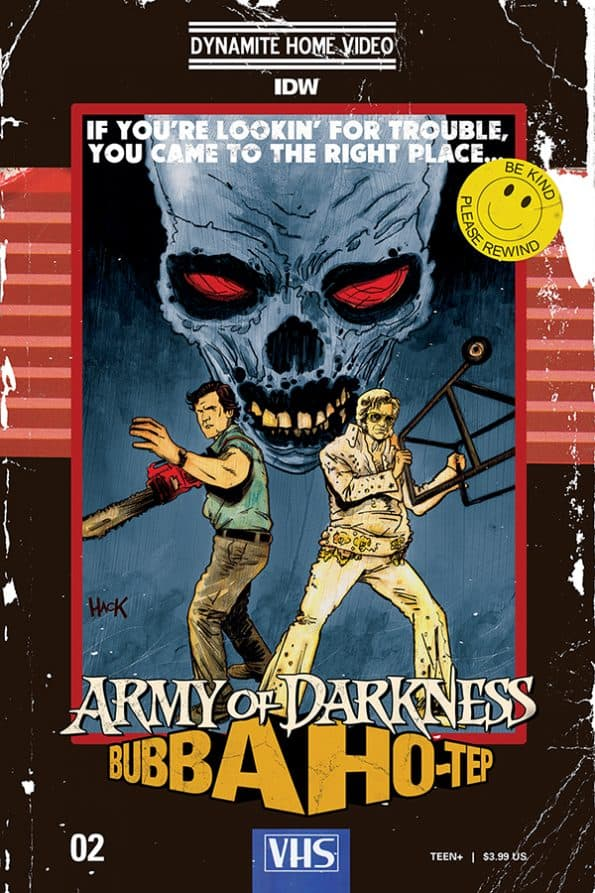 ARMY OF DARKNESS/BUBBA HO-TEP #2 - Cover C