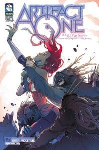 Artifact One #4 - Cover A by Romina Moranelli