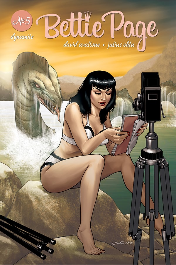 BETTIE PAGE #5 - Cover D