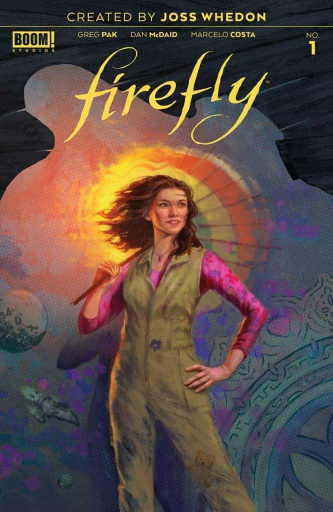Firefly #1 second printing cover