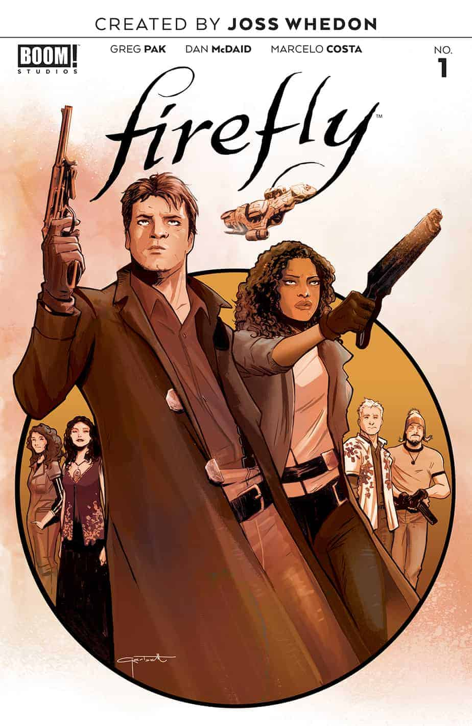 Firefly #1 - Main Cover A
