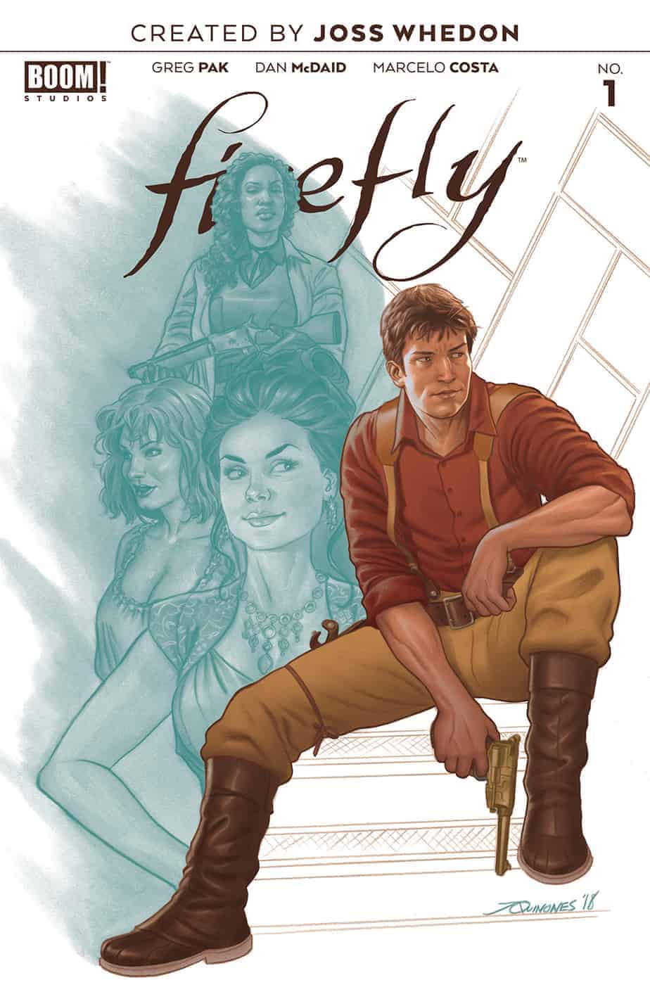 Firefly #1 - Pre-Order Cover B
