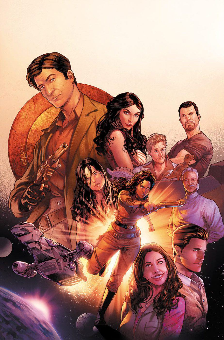 FIREFLY: BAD COMPANY #1 - Incentive Cover