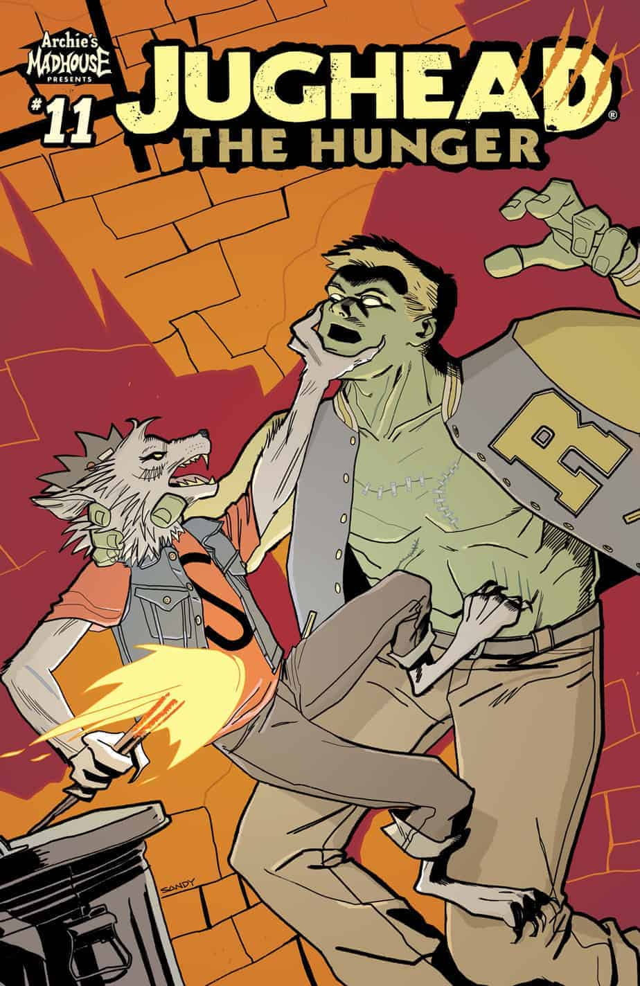 Jughead: The Hunger #11 - Variant Cover (Jarrell)