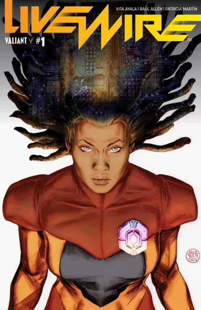 Livewire #1 - Glass Variant Cover by Doug Braithwaite