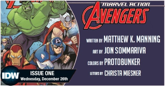 Marvel Action Avengers #1