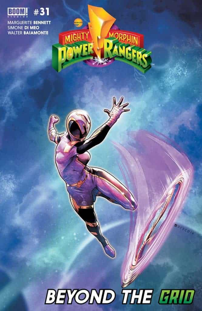 Mighty Morphin Power Rangers #31 second printing cover