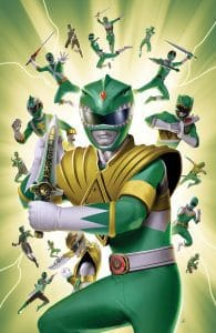 Mighty Morphin Power Rangers #31 Incentive Variant Cover