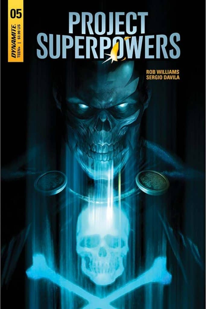 Project Superpowers #5 - Cover A by Francesco Mattina