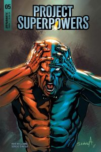 Project Superpowers #5 - Cover F by Sergio Davila