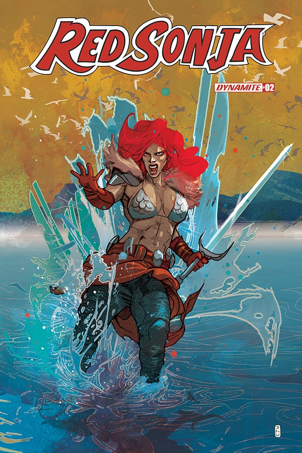 RED SONJA #2 - Cover C