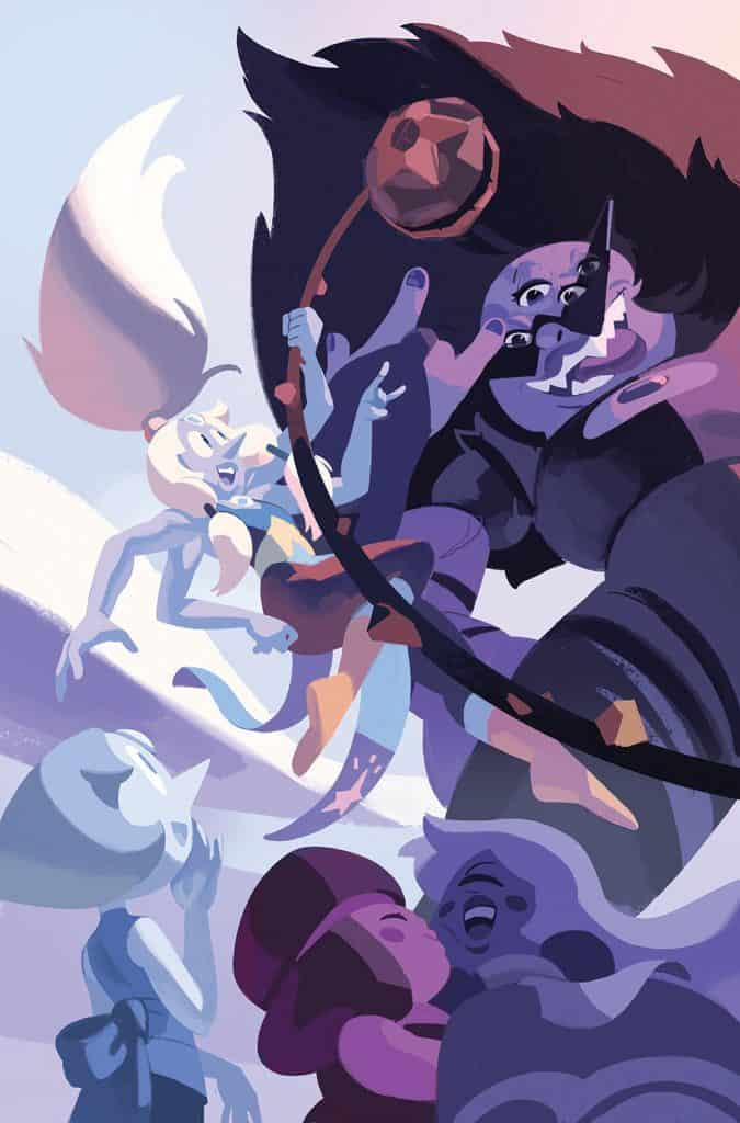 STEVEN UNIVERSE FUSION FRENZY #1 - Main Cover A