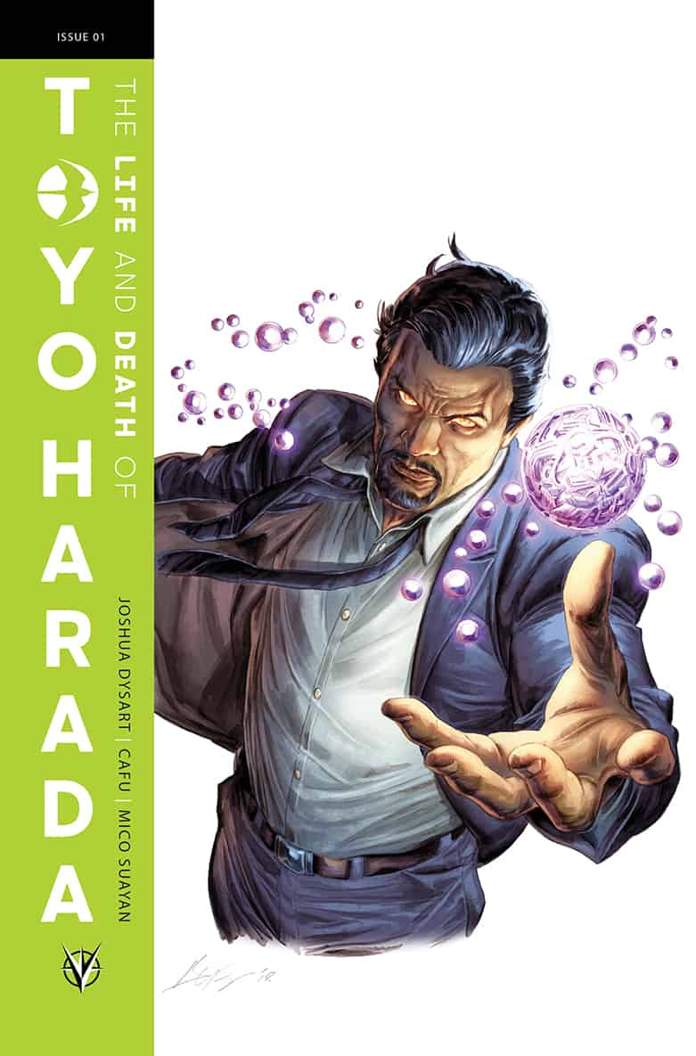 The Life and Death of Toyo Harada #1 - Glass Variant