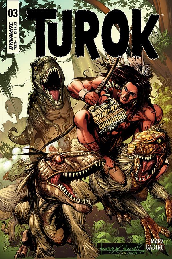 TUROK #3 - Cover A