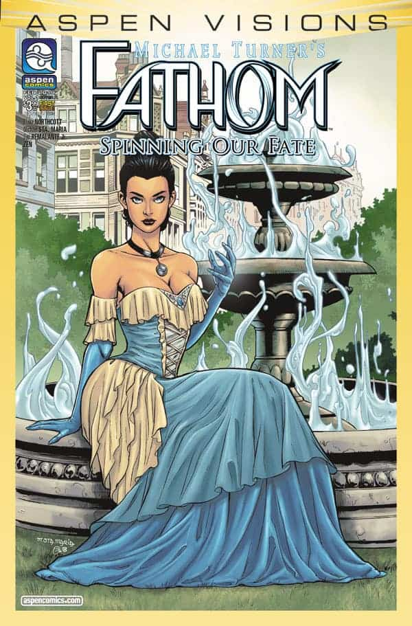 ASPEN VISIONS: FATHOM – SPINNING OUR FATE #1 - Cover A by Michael Santamaria