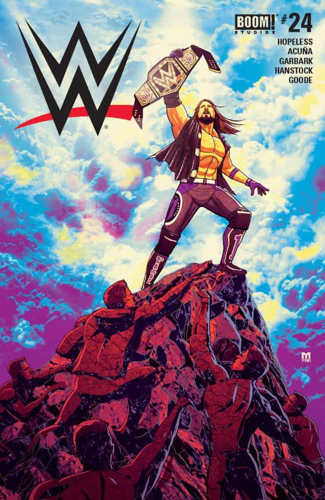 WWE #24 - Main Cover