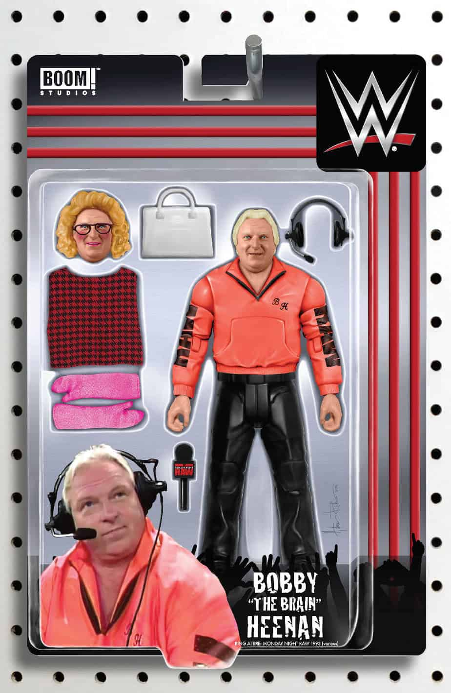 WWE #24 - Action Figure Variant