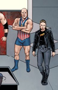 WWE #24 - RAW Connecting Cover
