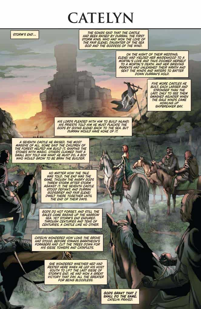 George R. R. Martin's A CLASH OF KINGS #15 - preview page 1