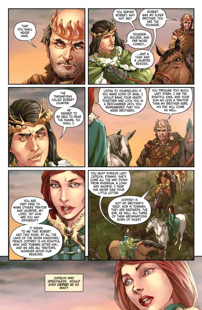 George R. R. Martin's A CLASH OF KINGS #15 - preview page 4