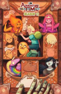 Adventure Time Season 11 #4 - Preorder Cover