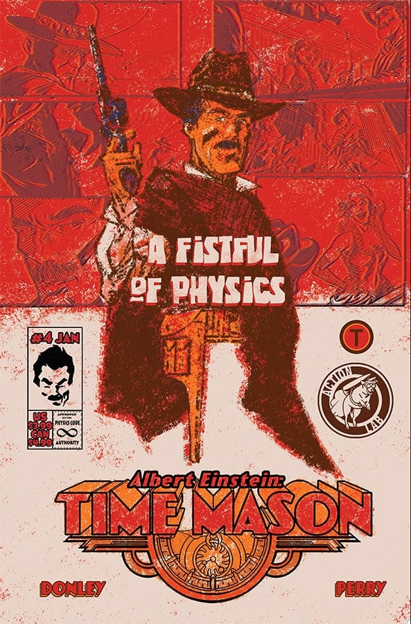 Albert Einstein: Time Mason #4 Cover B