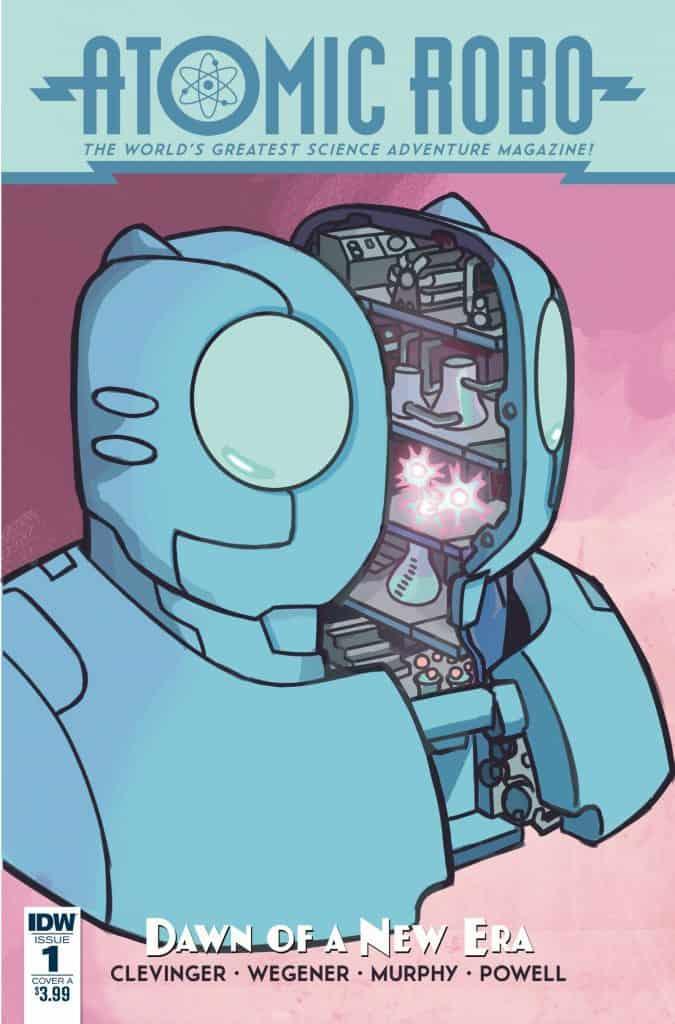 Atomic Robo & the Dawn of a New Era #1 - Cover A