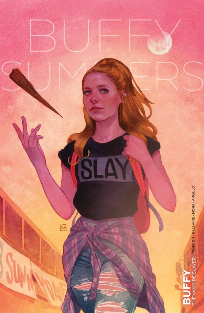 Buffy The Vampire Slayer #1 - Main Cover B