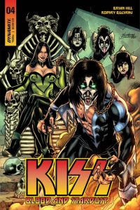 KISS: Blood and Stardust #4 - Cover B