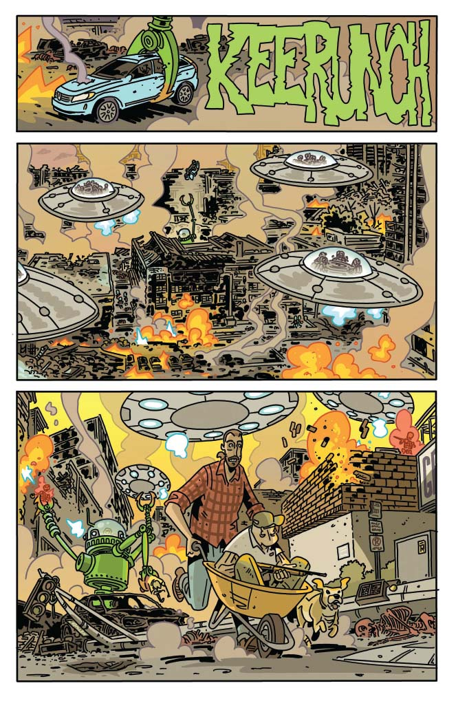 MARS ATTACKS #4 - preview page 2