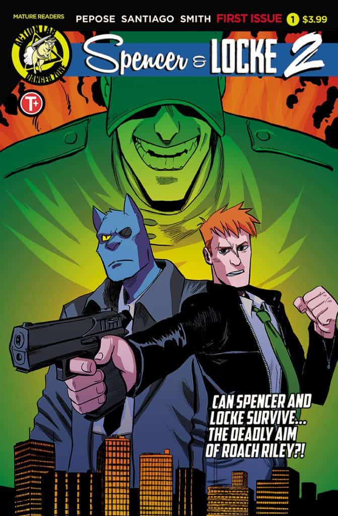SPENCER & LOCKE 2 #1 - Cover A