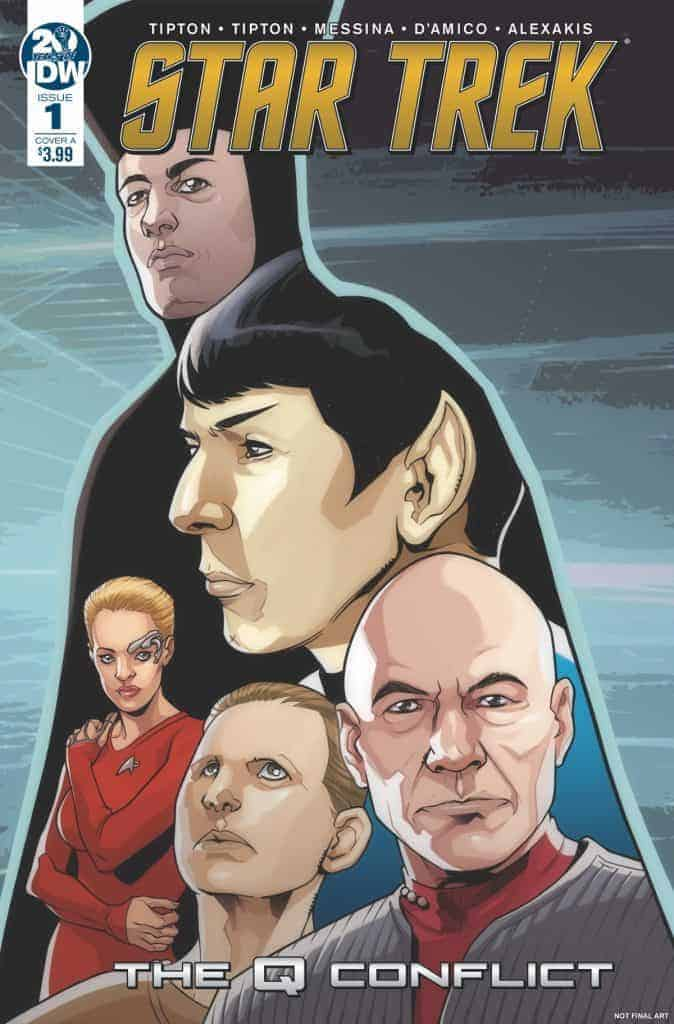 Star Trek: The Q Conflict #1 (of 6) - Cover A