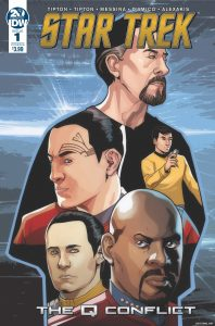 Star Trek: The Q Conflict #1 (of 6) - Cover B