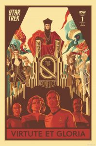 Star Trek: The Q Conflict #1 (of 6) - 1:10 Incentive Variant