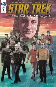 Star Trek: The Q Conflict #1 (of 6) - 1:25 Incentive Variant