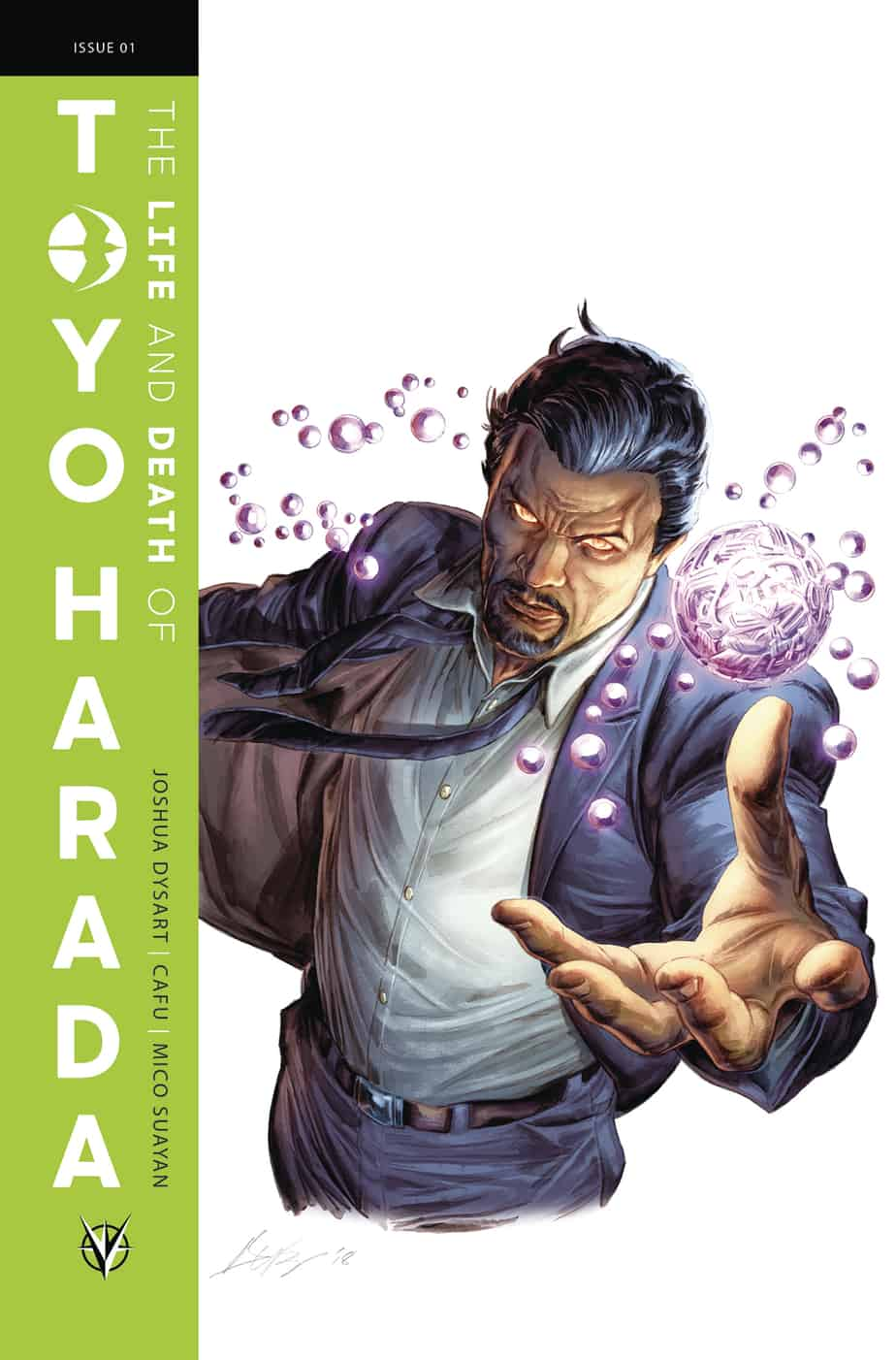 THE LIFE AND DEATH OF TOYO HARADA #1 (of 6) – Glass Variant Cover by Doug Braithwaite
