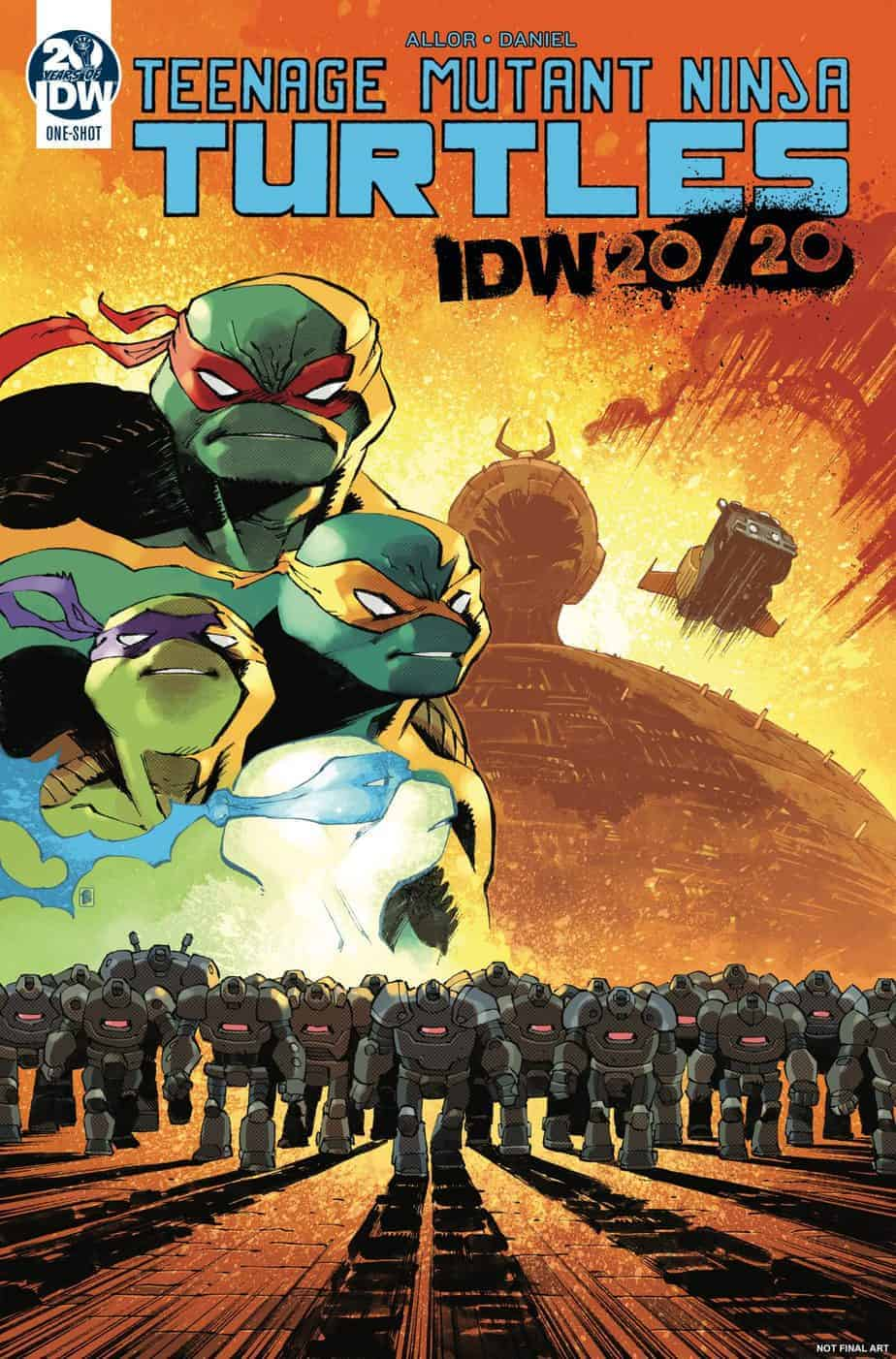 Teenage Mutant Ninja Turtles: IDW 20/20 – Cover A