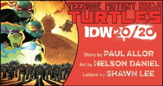 TMNT IDW 2020 preview feature