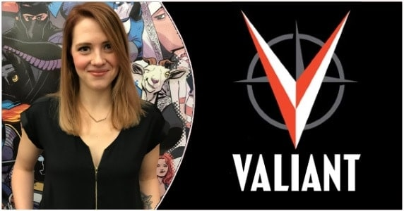 Valiant's Heather Antos preview feature