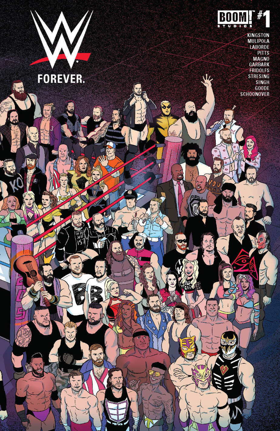 WWE: Forever #1 - Preorder Cover
