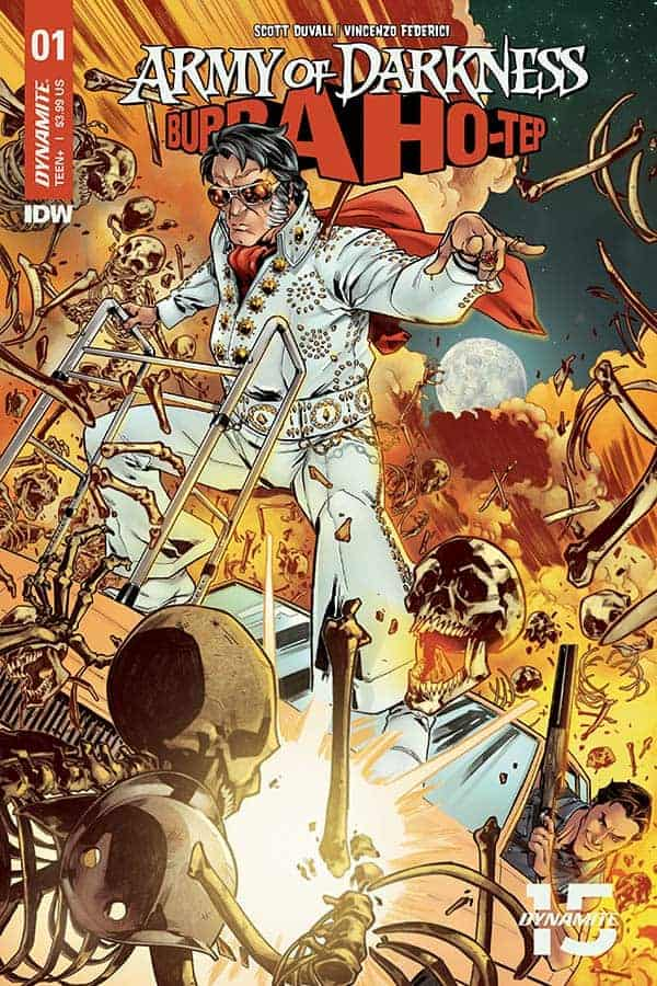 Army of Darkness vs. Bubba Ho-Tep #1 - Cover A