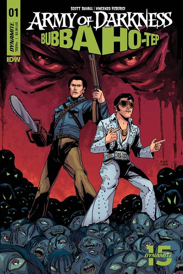 Army of Darkness vs. Bubba Ho-Tep #1 - Cover E